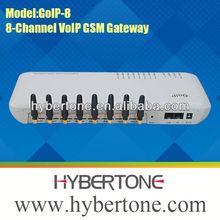 8 ports 64 sim cards gsm gateway GOIP8