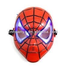 Kids Halloween mask masquerade mask cartoon mask glow Spiderman