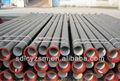 Ferro fundido fiado tubos / tubos de ferro fundido dúctil com pe manga