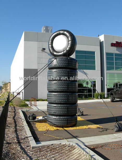 2013 Hot-Selling Giant inflatable inflatable tire for decoration/advertisment