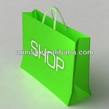 Brand Name and Logo Printing Paper Shopping Bag paper carrier bag