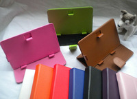 universal leather case covers with support for tablet Pc 10 inch