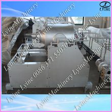 Automatic stainless steel gas puffed snack food processing line