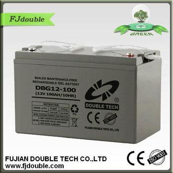 dry batteries for ups 12V100AH GEL BATTERY