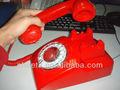 popular red retro telefone com fio