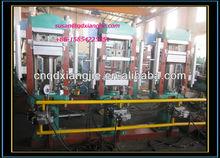 2 layer shoe sole equipment/rubber sole moulding press