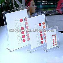 Acrylic Photo Booth Strip Frames /acrylic pop display