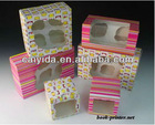 2013 paper cupcake boxes with insert from Shenzhen