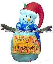 New design inflatable christmas snow globe decoration