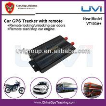 UVI taxi/fleet management system for dual sim card car gps tracker VT103A+