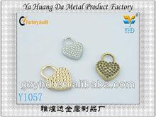 vintage popular metal fashion bag decoration