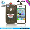 Protective silicone phone case for iphone 4/4s