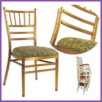 1 Antique style wedding tiffany chair and chivari chair