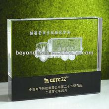 crystal glass laser 3d image