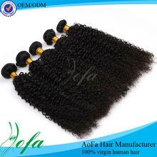 100% human hair,grade 5A short curly brazilian hair extensions