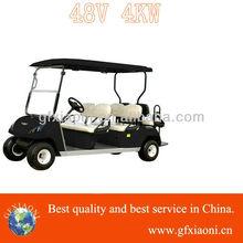 golf car electric motor vehicle