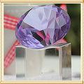 Diamante roxo cristal da lembrança do casamento para decoração do