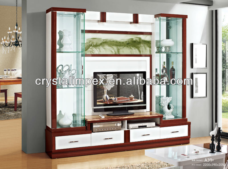 LED TV Wall Unit, View lcd tv wall unit designs, DIRON Product ...