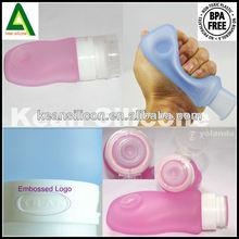 fashion hot selling silicone plastic travel bottle Ca Wholesales