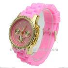 geneva women jelly watch diamonds cheap price small order quantity Customs watch