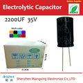 Excedente capacitores / lote de ações 1000 uf capacitores polaridade com qualidade de confiança