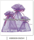Lavender lace gift bags gift euro shopper