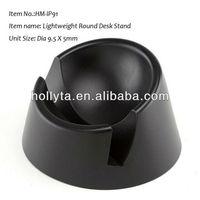 Black iHip STANDBY New Lightweight Round Desk Stand for Apple iPad 1 2 3 4 Gen