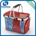 portátil dobrável de plástico pet cestadebicicleta transportadora pet cão cesta cesta