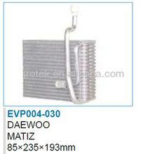 Auto ac evaporator for MATIZ 85*235*193MM
