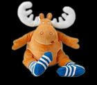 20cm stuffed animal moose baby toy