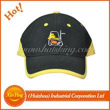 high quality custom baseball cap wiht sandwich