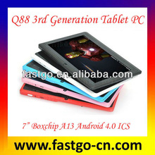 Wow! 2013 Newly Q88 Generation 7 A13 Q88 3rd Generation Tablet PC