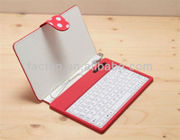 Silicone case with keyboard for 7inch tablet pc
