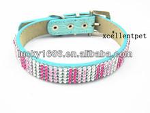 2013 new fashion bling pet products dog collar dog leash