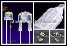 F5 F8 smd5050 3528 2835 3014 5730 5mm Flat Top Led