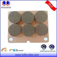 friction ceramic press blocks