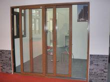 hot sell villa lurxy door,aluminum sliding heavy duty door ,villa main door