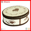 Fashionable gift packaging box with fabric covering