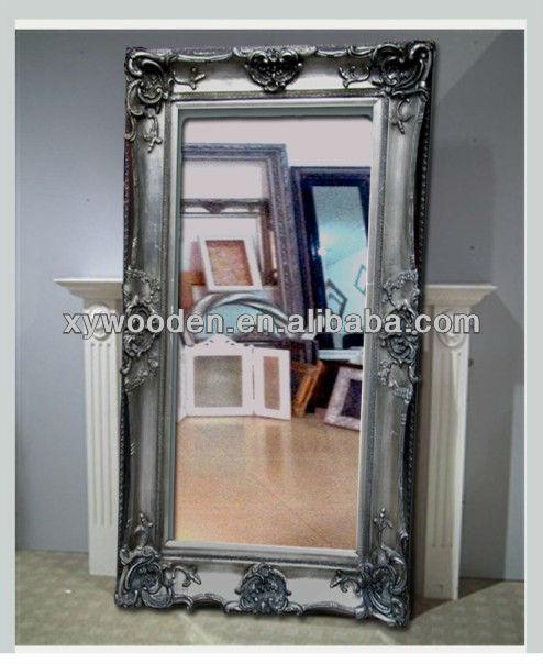 Vintage antigua env o espejo de pie muebles de sal n de for Mirror 72x36