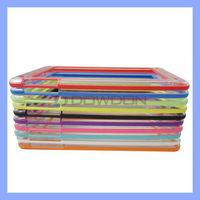 Colorful TPU Bumper Case for Apple iPad Mini Frame Case Protector