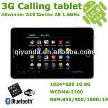 7 inch allwinner a10 3g gsm phone tablet
