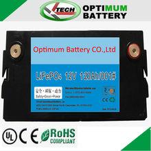 12V 120Ah energy storage battery pack