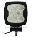 2013 new! 9 - 60 V 80 W CREE LED tracteur lampe de travail, Offroad conduite, Mining, Bateau, Remorque, Chariot élévateur, Projecteur / ovale faisceau, Ce, Ip67