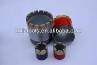 Core drill bit with single pipe,rock brill bits