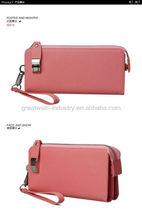 Hot Sale Zipper Women Leather Wallet 2013 factory price Wholesale