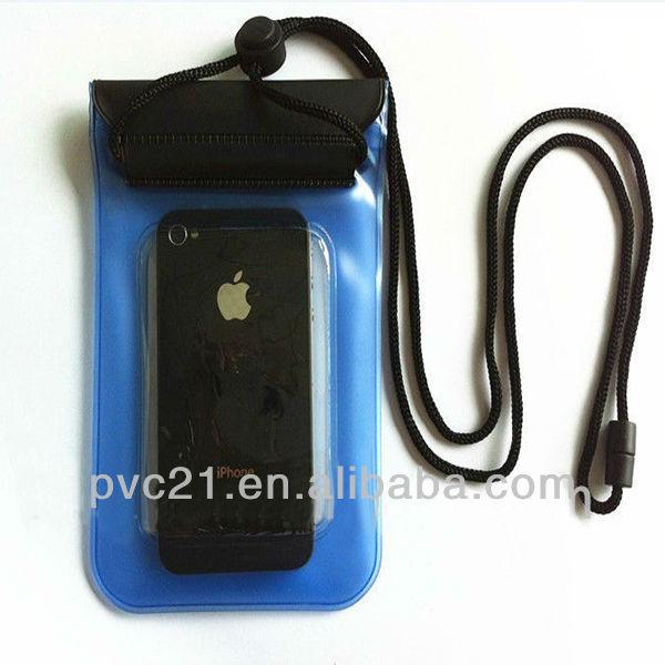 Hot selling iphone,samsung cellphone waterproof PVC bags