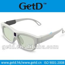 Universal 3D Active glasses for Sony Panasonic Toshiba Sharp ,IR based