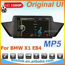 Original UI tv dvd gps for BMW X1 E84 gps Navi