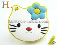 Magnetic rubber knurls for furniture/cartoon knurls