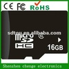 Real and full capacity oem micro sd card 16gb low price